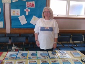 Liz in attendance as a recent carers event